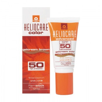 heliocare color gelcream brown 50 ml